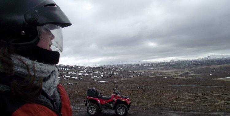 quad en islande