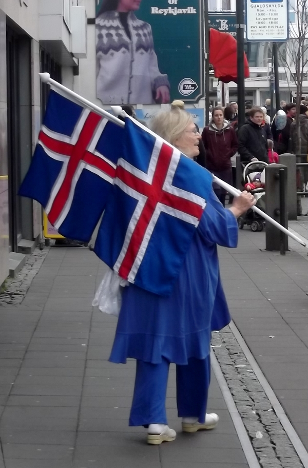 drapeau fete nationale islande