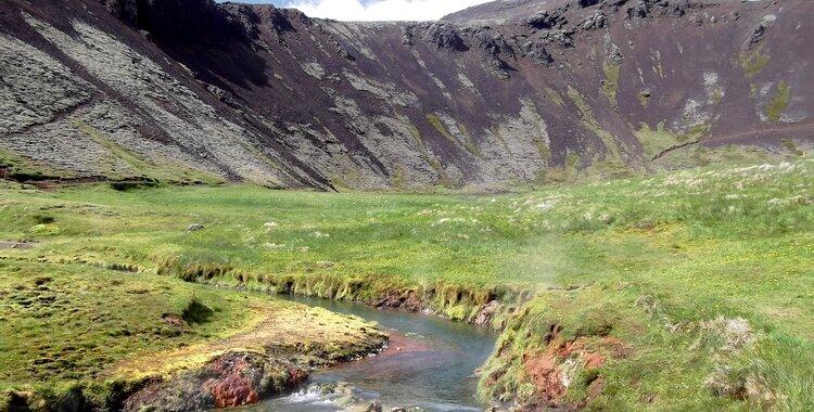 sources chaudes islande