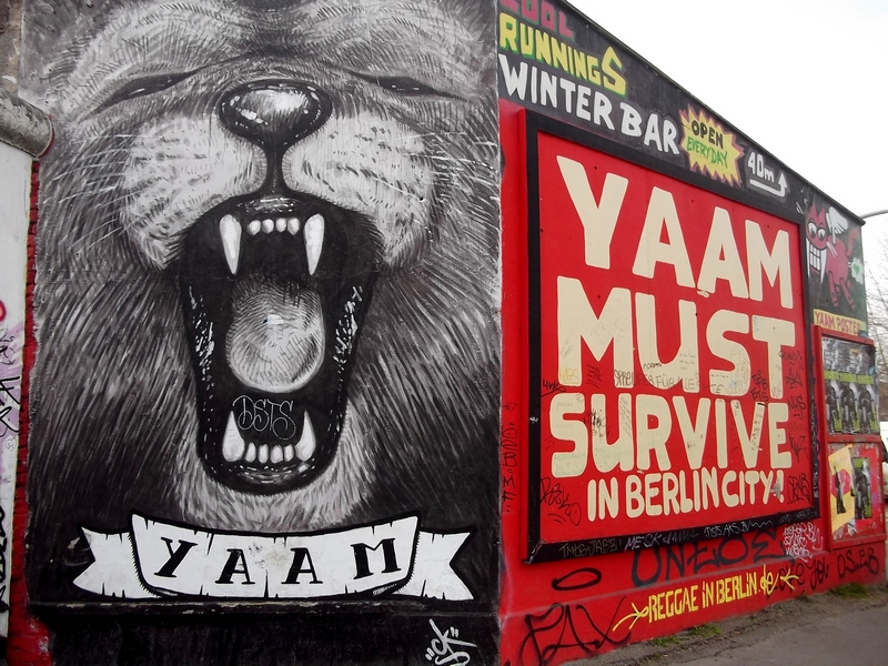 lion east side gallery