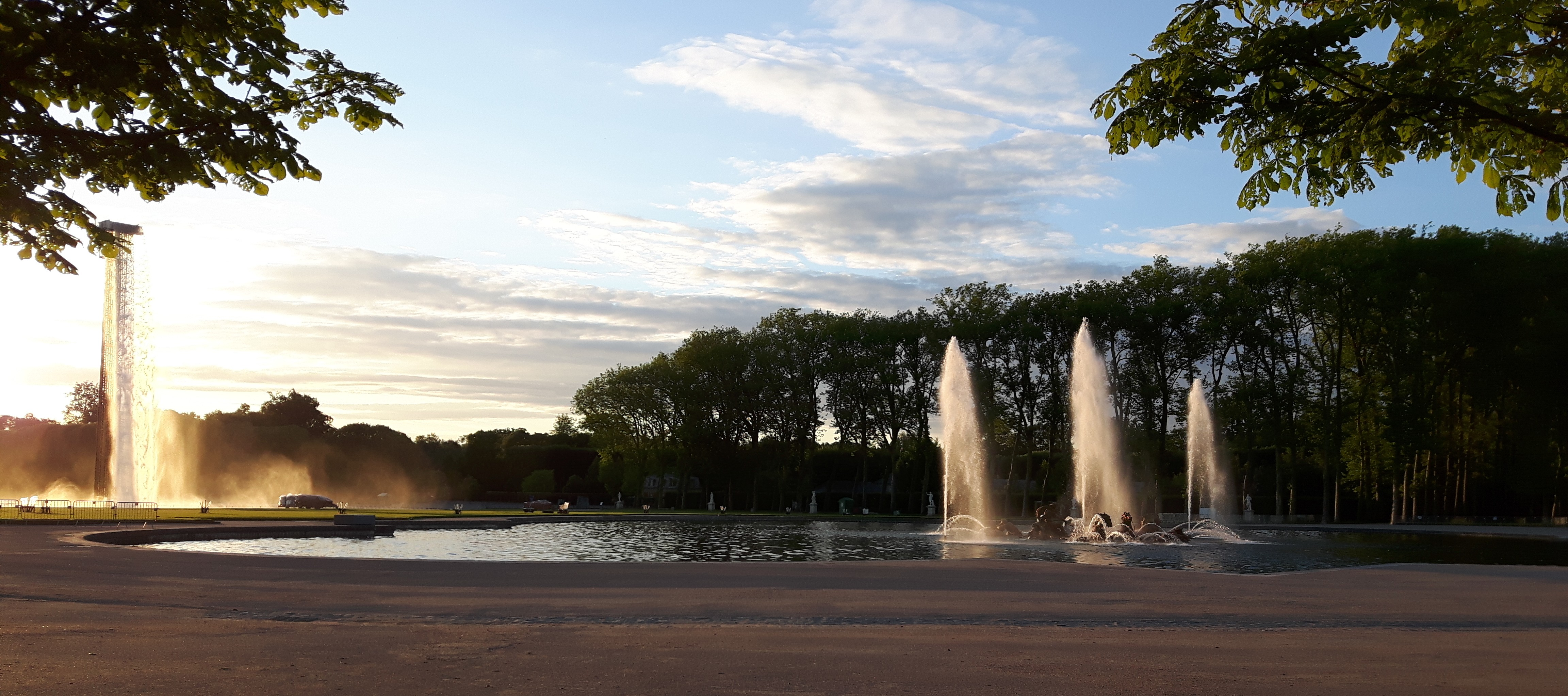 Fontaine Versailles